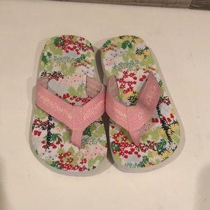 Like NEW Hanna Anderson toddler flip flops